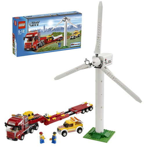 Lego va fabriquer des éoliennes en mer