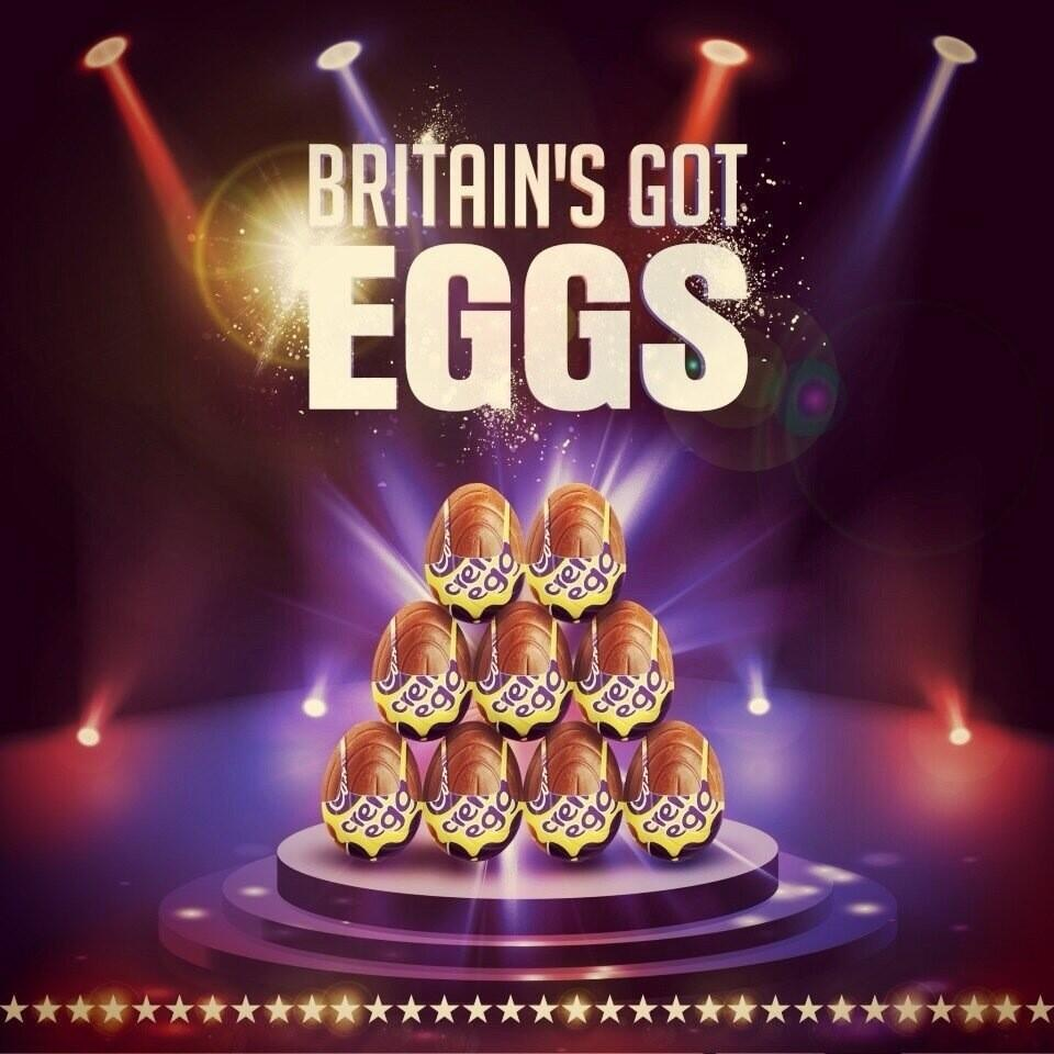 britain's got eggs