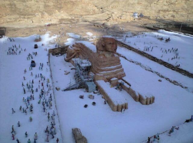 neige-egypte