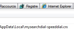mysearchdial