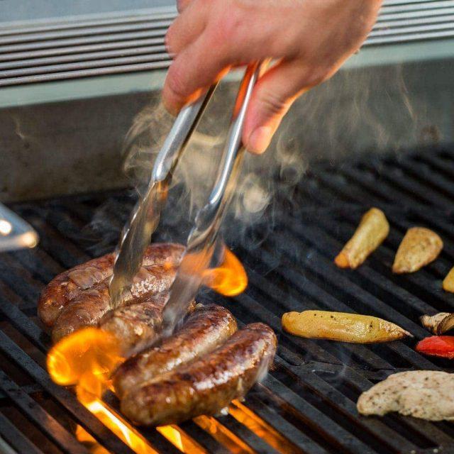 Barbecue Catering, BBQ und Grillen auf unserer Rooftop Location Frankfurt/Main Westend. - FLOW THE KITCHEN