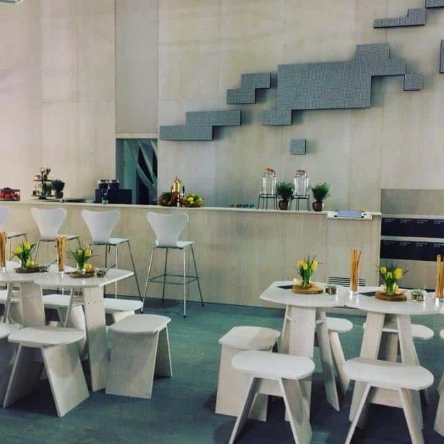 Messestand. Standdekoration - Light & Building 2018 - Messe in Frankfurt am Main