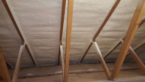 dreamroof spray foam insulation