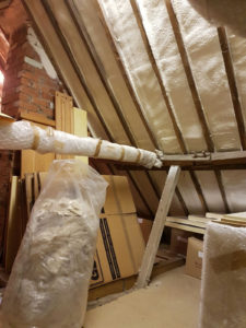 spray foam insulation plymouth