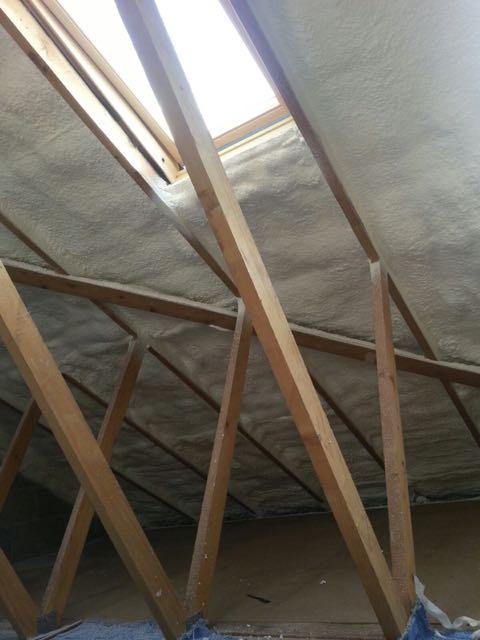 Spray Foam Loft Insulation and Roof Insulation - Foamroof