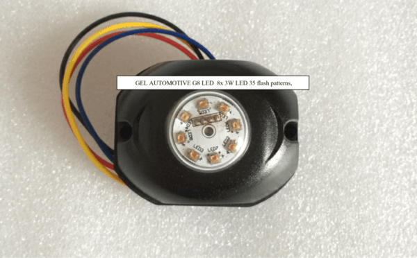 LED Strobe-LED Beacon GEL Automotive G8