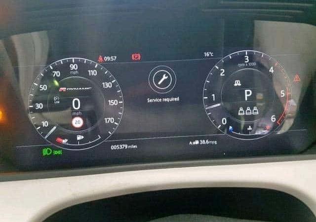 Range Rover mileage correction