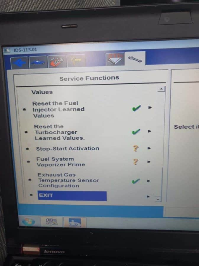 ford transit diagnostics