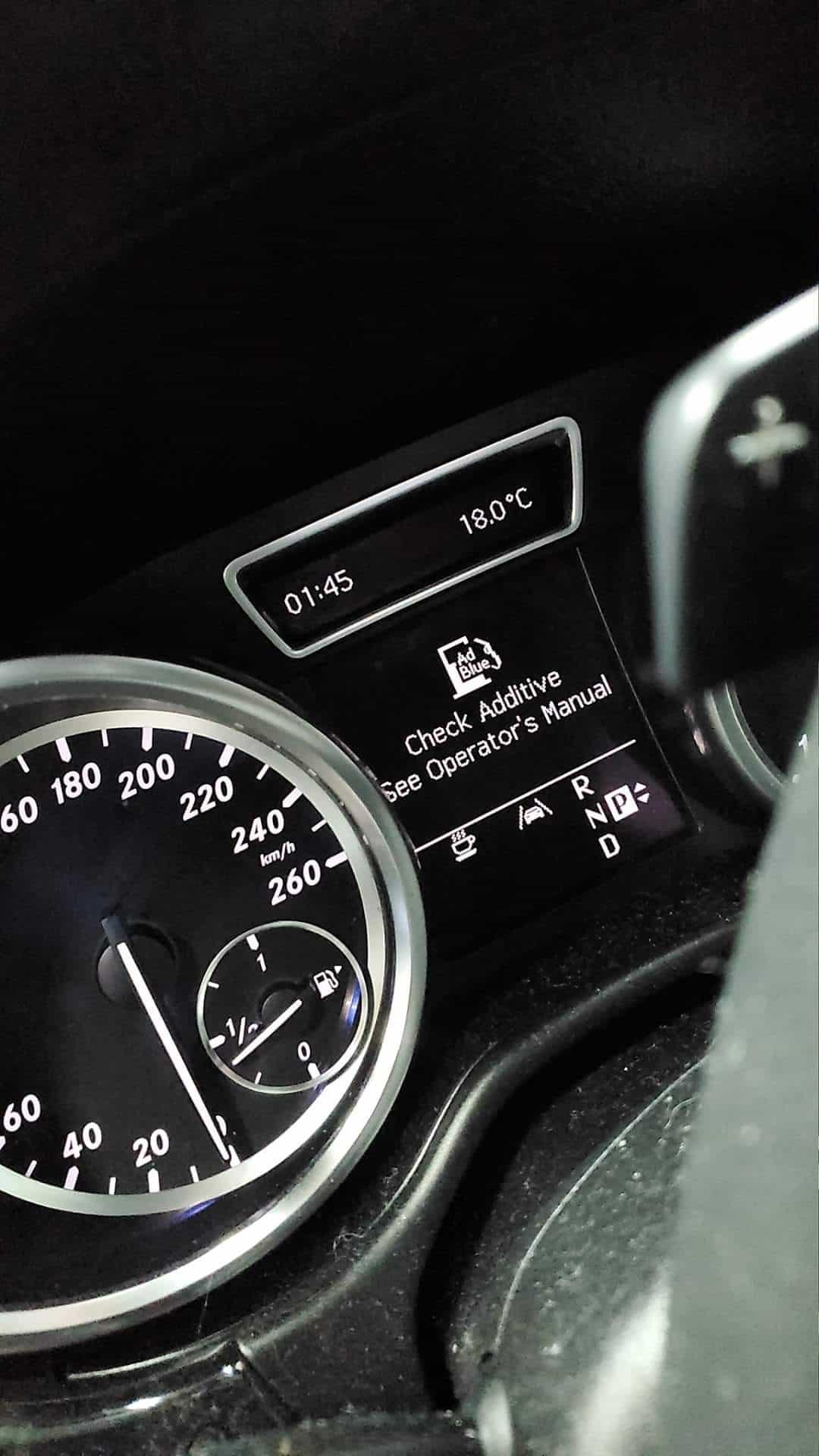 Mercedes SCR (Adblue) Fault
