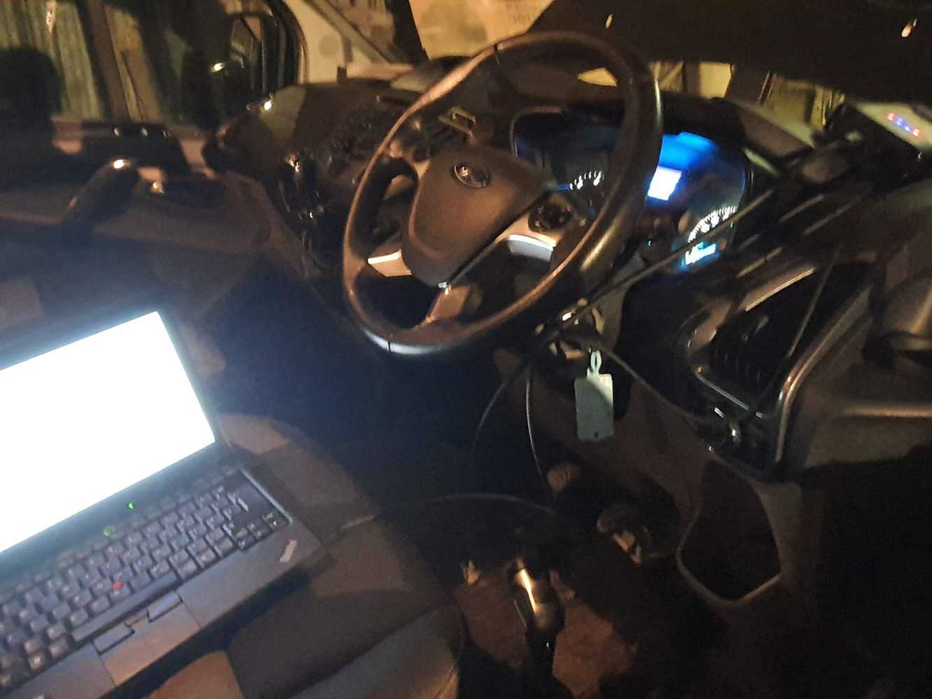ford crash data repair