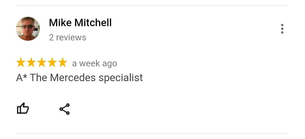 Reviewed Mercedes Specialists