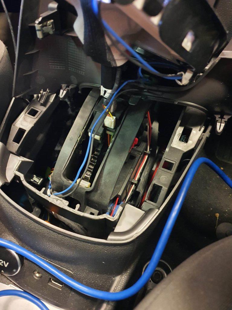 ford emergency gear release