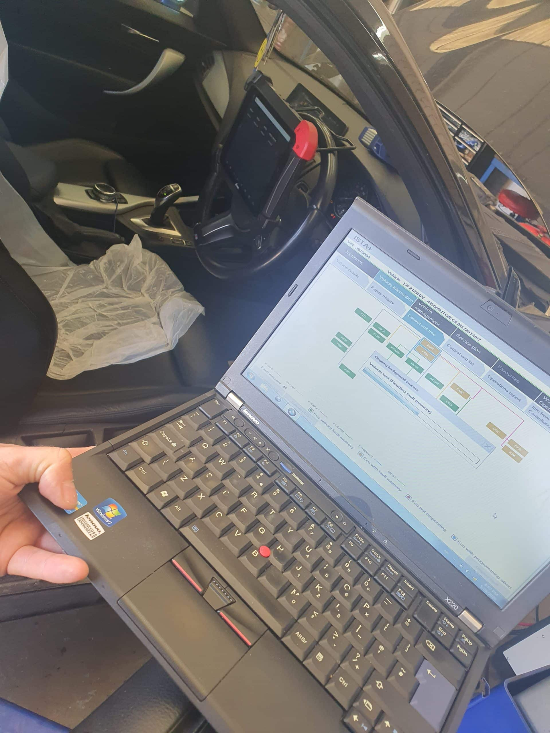 140I BMW Ista Diagnostics for MB Motor Specialists