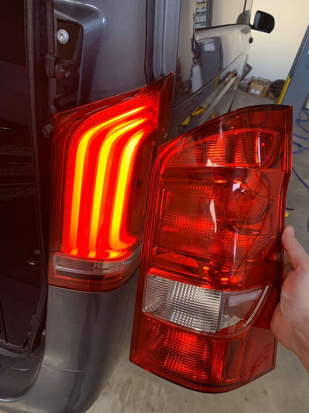 Mercedes Lighting upgrades