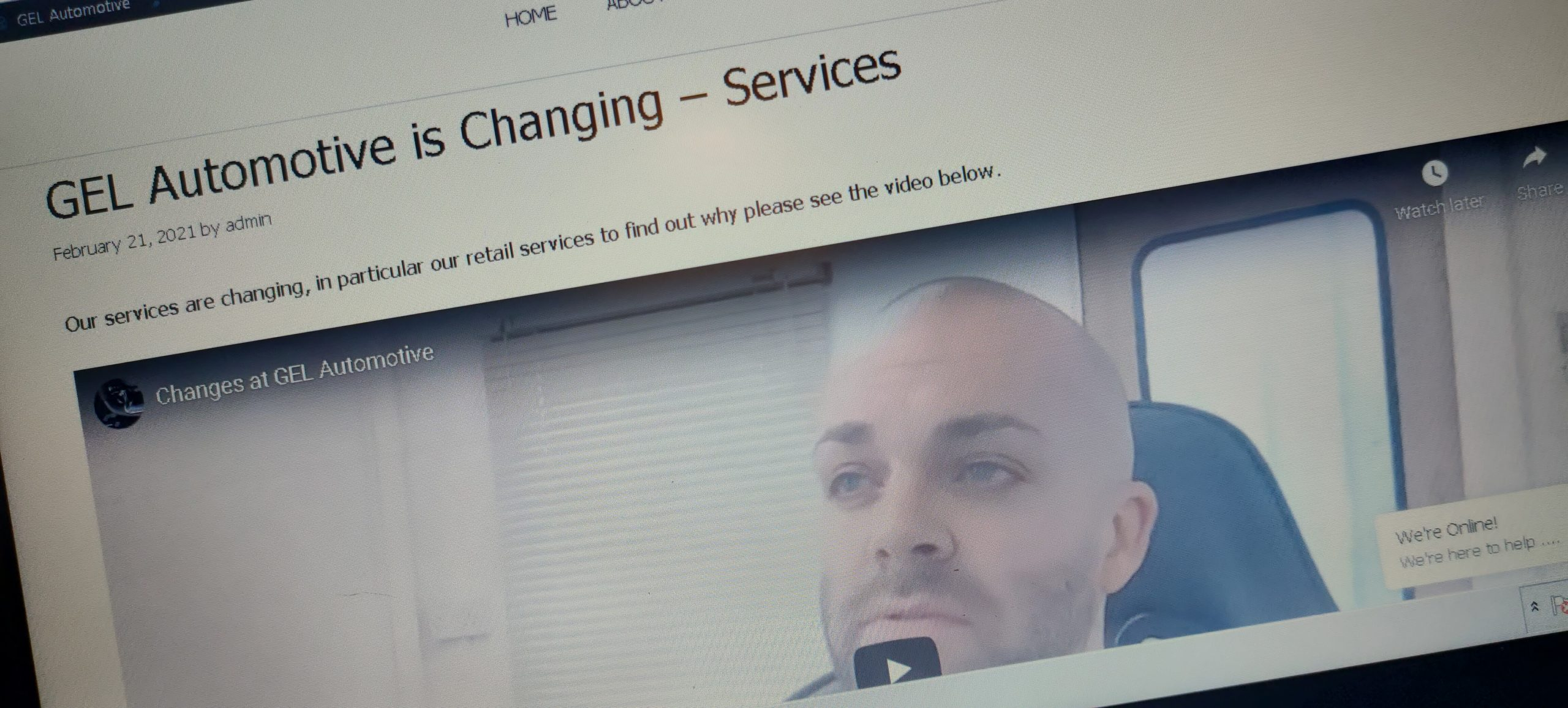 gel automotive changing services