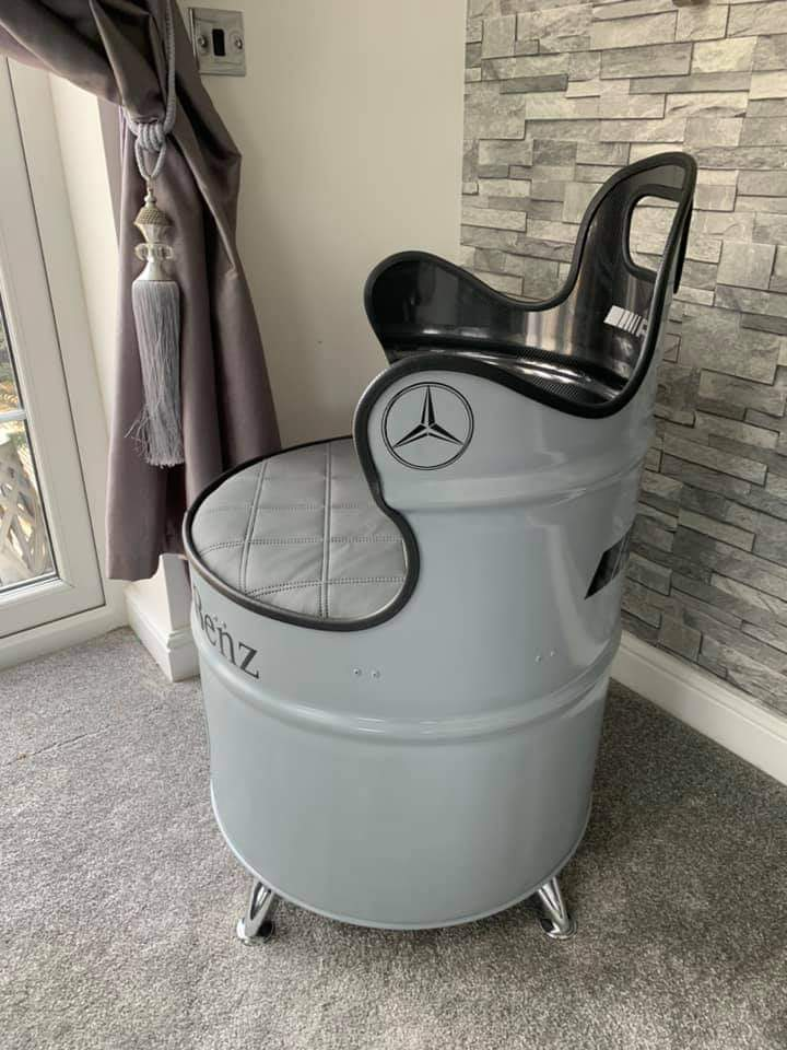 side view mercedes chair