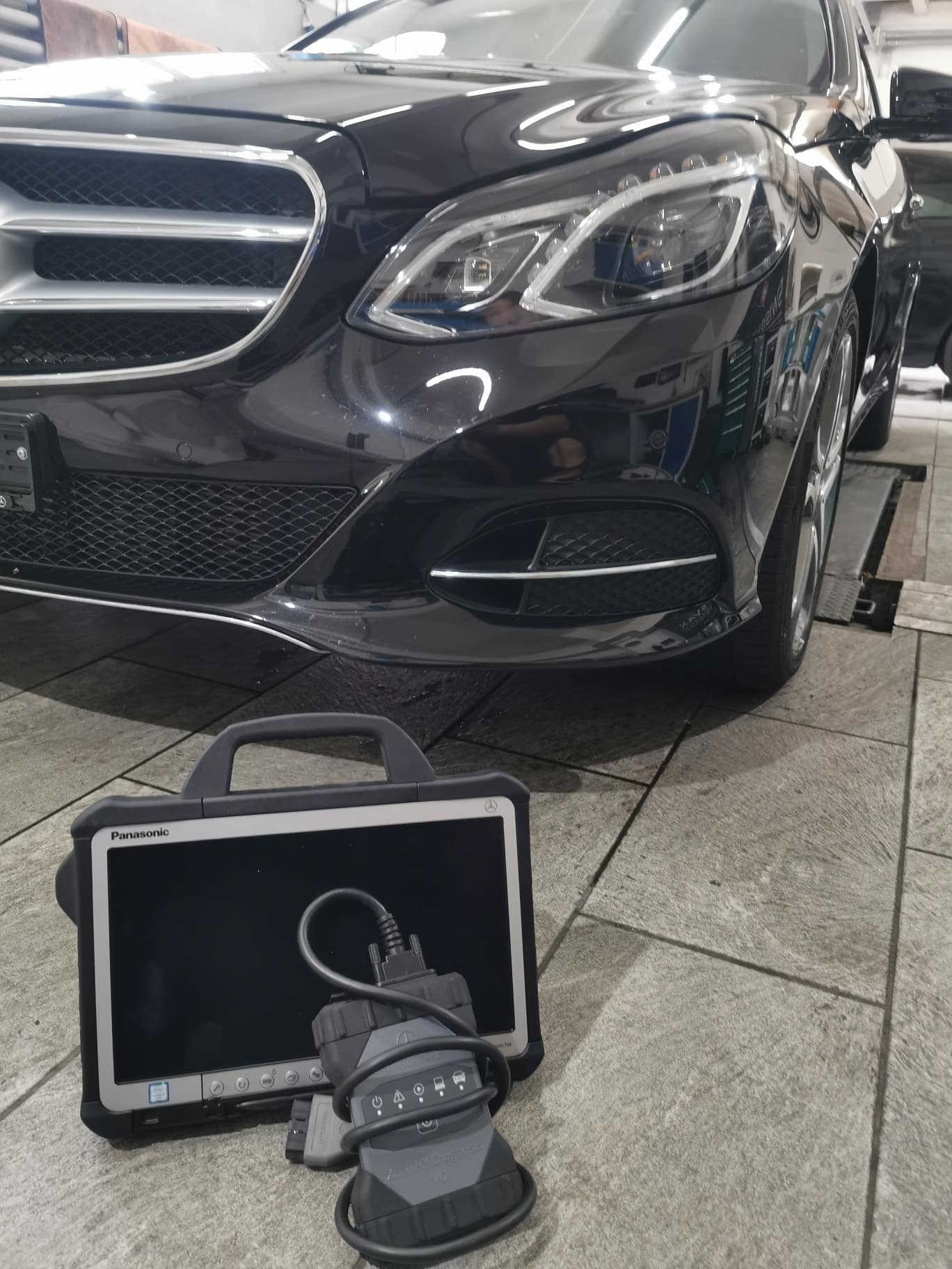 mercedes xentry SCN Coding