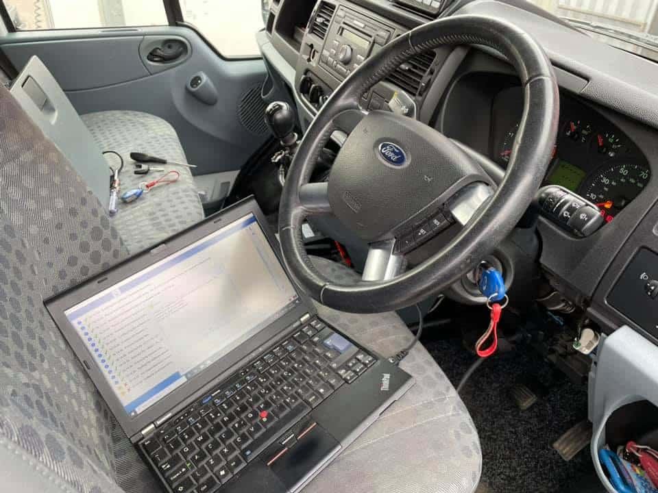 Ford Transit Cruise control activation