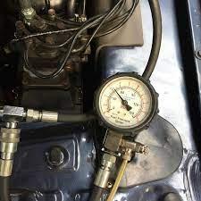 fuel pressure testing