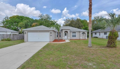 3034 Lackland Ave Spring Hill FL 34608 – 3 Bed / 2 Bath – $175,000 3D Model