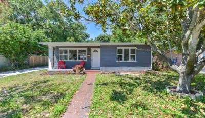 8075 30th Ave N St Petersburg FL 33710 – 2 Bed / 1 Bath – $204,900 3D Model