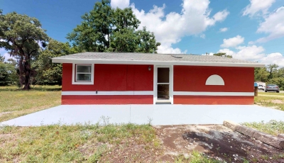 1100 NE 1st St Crystal River FL 34429 – 3 Bed / 1 Bath – $69,500 3D Model