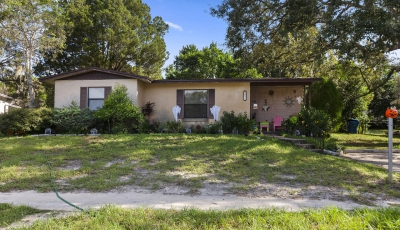 1058 Marlow Ave Spring Hill FL 34606 – 2 Bed / 1 Bath – $99,999 3D Model