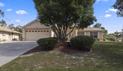 3408 Montano Dr Spring Hill FL 34609 – 3 Bed / 2 Bath – $195,000 3D Model