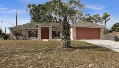 6003 Mountain Way Ave Spring Hill FL 34608 – 3 Bed / 2 Bath – $180,000 3D Model