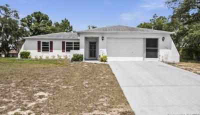 5276 Hanford Ave Spring Hill FL 34608 – 2 Bed / 2 Bath – $165,000 3D Model