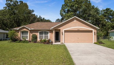 4195 Courts Ct Spring Hill FL 34609 – 3 Bed / 2 Bath – $225,000 3D Model