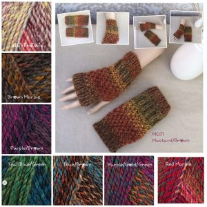Chunky Handknit Fingerless Gloves, Hand knit Hand-warmers, Knitted Wrist warmers - Knit to order