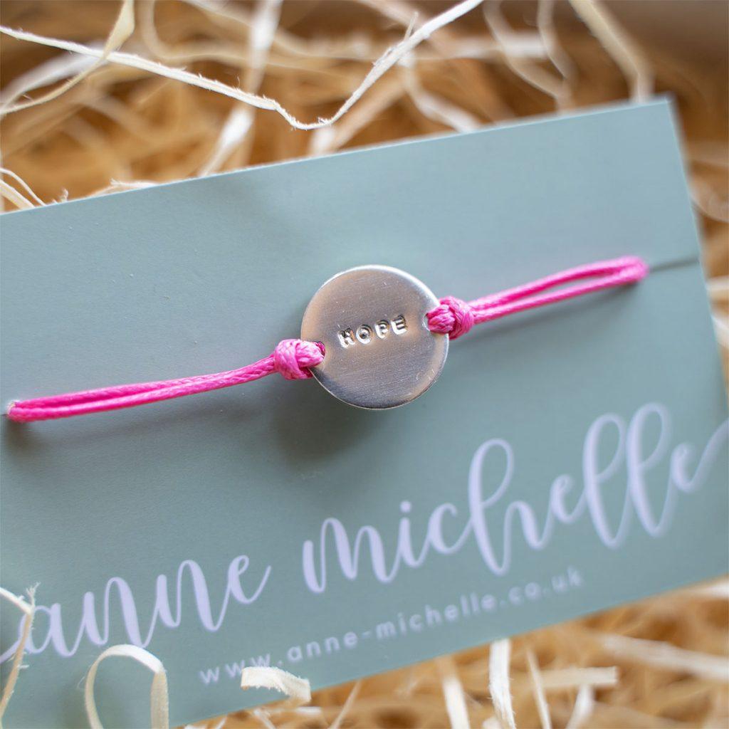 Hope Charm Bracelet