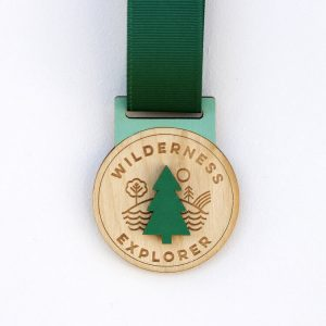 Wooden Wilderness Explorer Medal