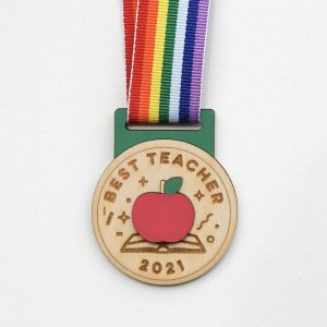 Best Teacher Medal