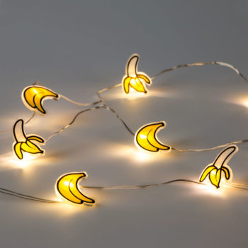 Banana Fairy Lights from www.justmustard.com