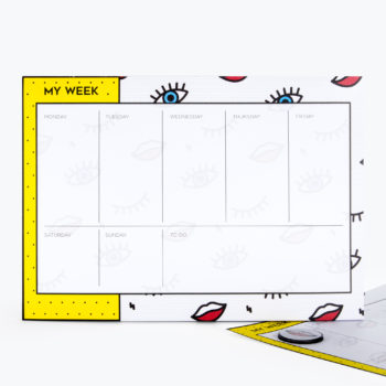 Wink Weekly Planner from www.justmustard.com