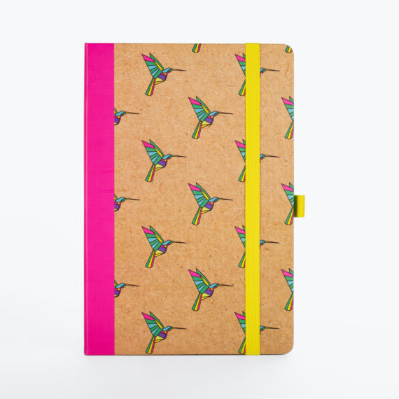 Origami Notebook from www.justmustard.com