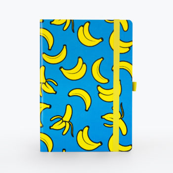 Banana Notebook Cyan from www.justmustard.com