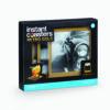 Instant Coasters - Retro Gold