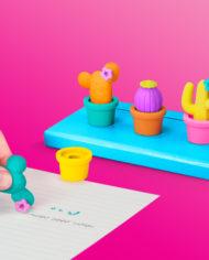 Cool Cactus Erasers 1