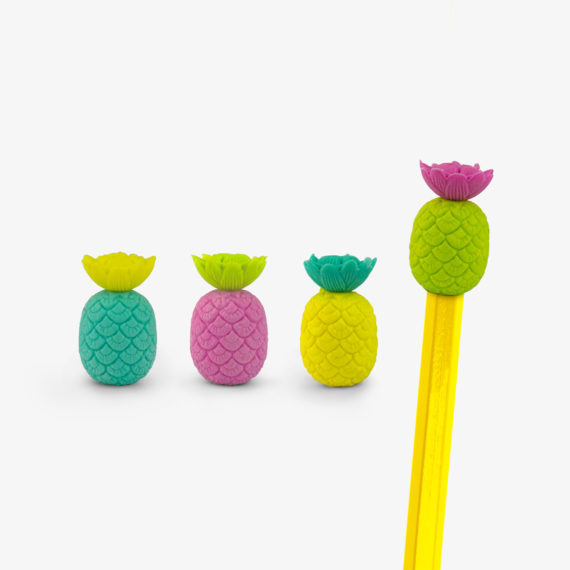 Totally Tropical Pineapple Eraser Toppers