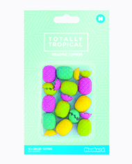 Totally Tropical Pineapple Eraser Toppers 2