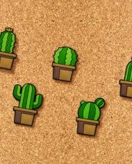 Cactus Push Pins 3