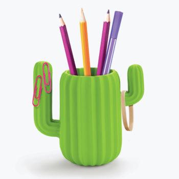 Cactus Desktop Organiser from www.justmustard.com