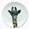 wild dinning giraffe