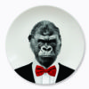 wild dinning gorilla