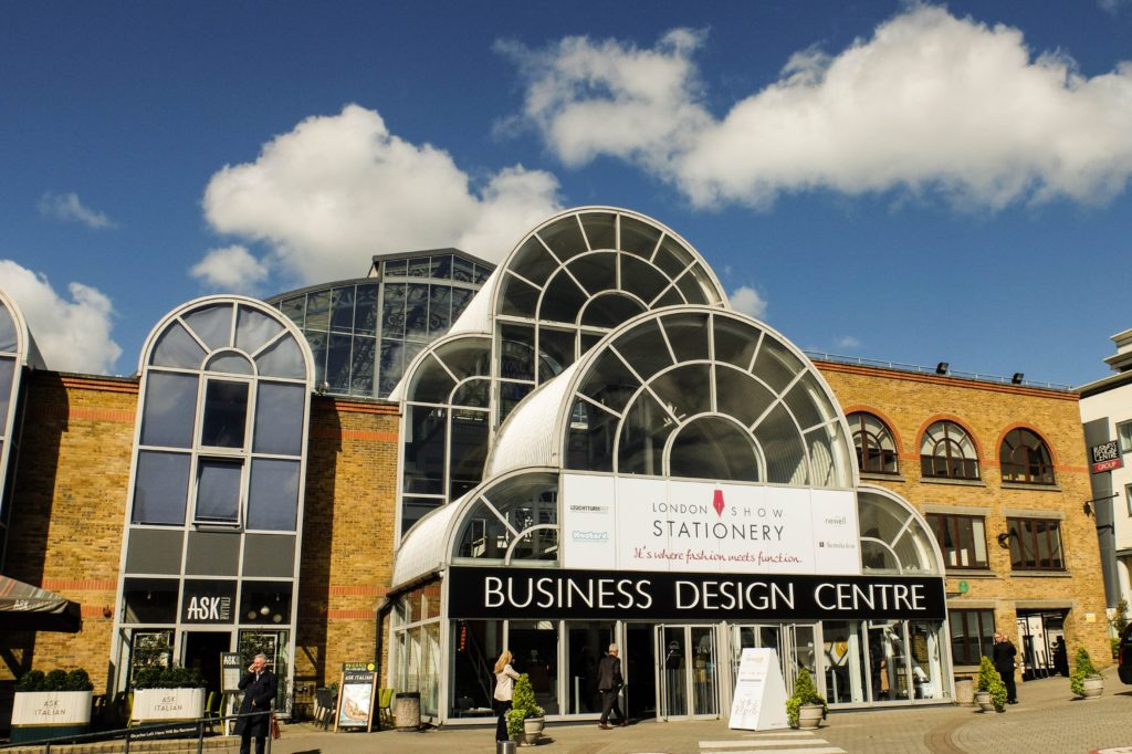 london stationery show building