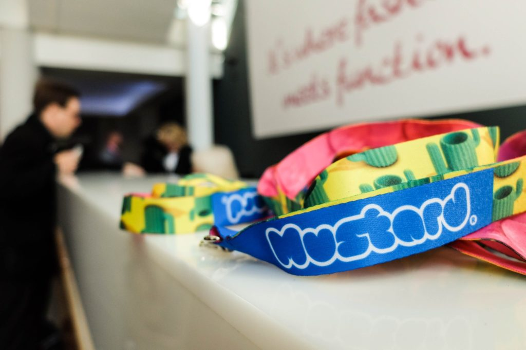 london stationery show lanyards