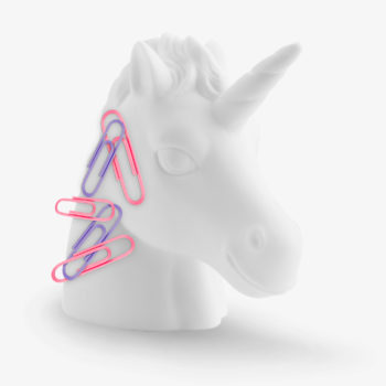 Unicorn Paperclip Holder